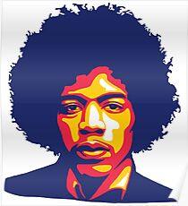 Hendrix Poster 1236 Jimi