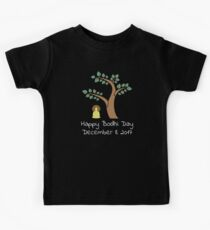 Happy Bodhi Day 2017 Buddhist Holiday Design Kids Tee