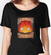 Studio Ghilbi Illustration: CALCIFER #3 Women's Relaxed Fit T-Shirt