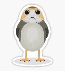 Porg Sad Sticker