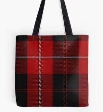 00040 Cunningham Clan/Family Tartan  Tote Bag