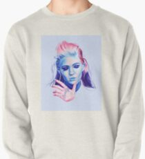 Pink to Blue Pullover