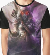 The Banshee Queen Sylvanas, Warcraft Fanart Graphic T-Shirt