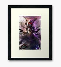 The Banshee Queen Sylvanas, Warcraft Fanart Framed Print