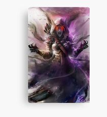 The Banshee Queen Sylvanas, Warcraft Fanart Canvas Print