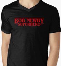 Bob Newby Superhero Stranger Things Inspired T-Shirt