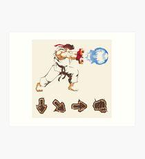 Know your Fighting Skills  Art Print