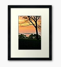 World's End Framed Print