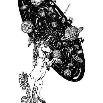 Space Unicorn  by Ruta