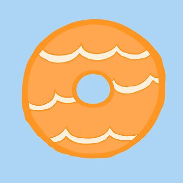 Orange Party Ring Biscuit by evannave