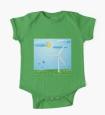 Wind turbine One Piece - Short Sleeve