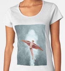 The angel Women's Premium T-Shirt