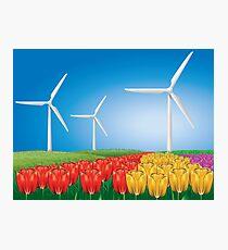 Wind turbine 2 Photographic Print