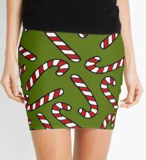 Candy Cane Pattern Mini Skirt