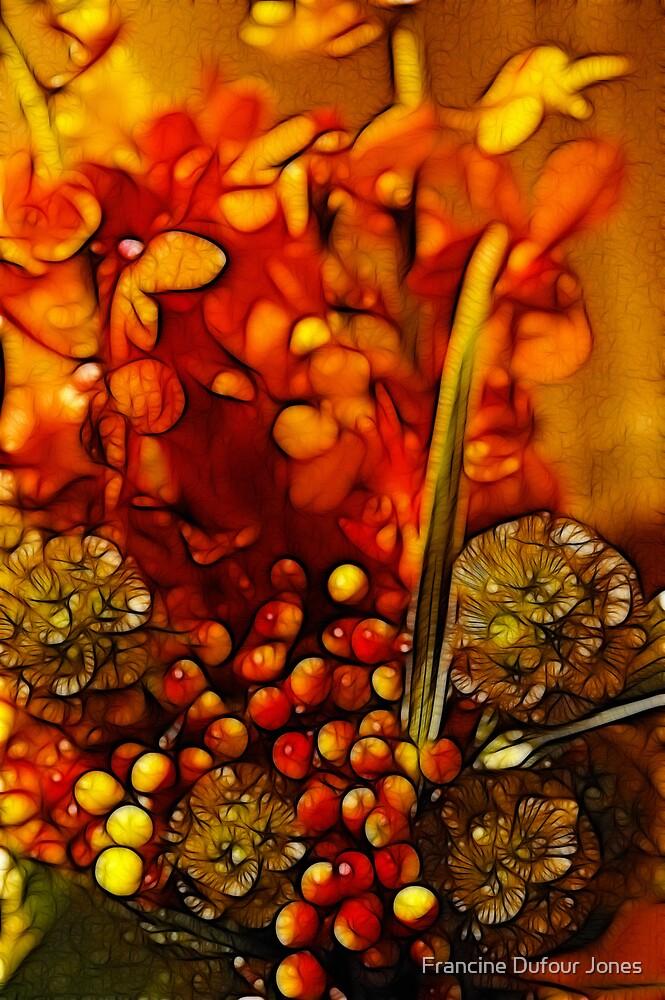 Wedding Bouquet Series #4 by Francine Dufour Jones