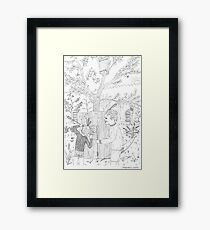 beegarden.works 006 Framed Print