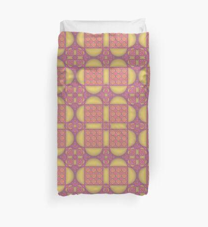 Art Deco Style Pattern Duvet Cover