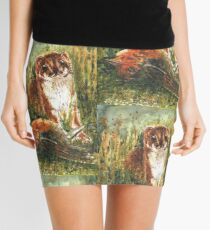 Very little weasel Mustela nivalis Mini Skirt