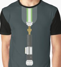 Obi-Wan Kenobi Green Lightsaber  Graphic T-Shirt