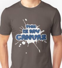 This Is My Canvas (Black) Unisex T-Shirt
