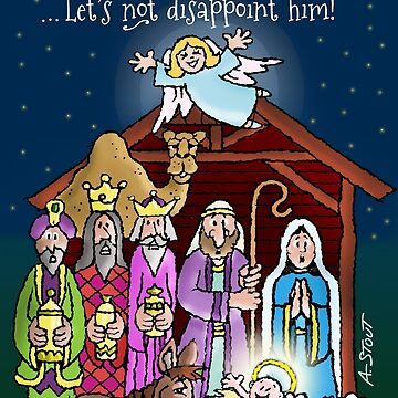 A Savior is Born! by atheistcards