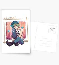 Blaue Schmetterlinge Postkarten