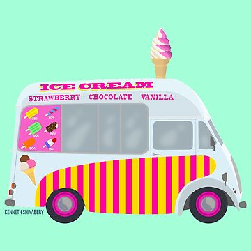 Ice Cream Truck by kshinabery212