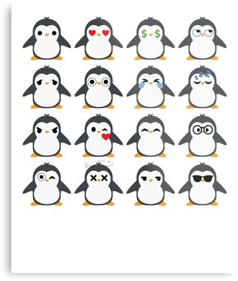 Penguin Emoji   by HippoEmo