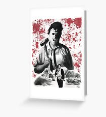 They Call Him Leatherface Greeting Card