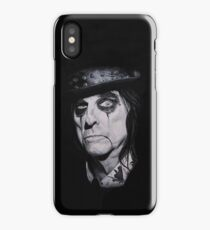 Alice Cooper Portrait. iPhone Case/Skin