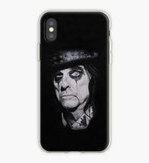 Alice Cooper Portrait. iPhone Case