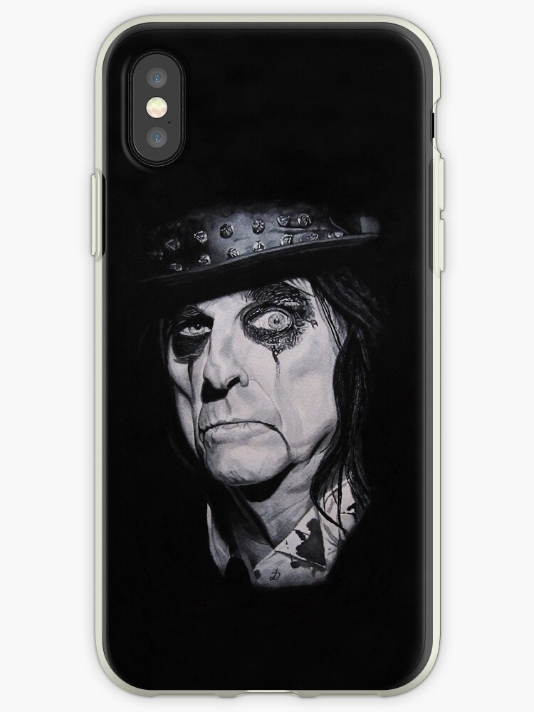 Alice Cooper Portrait. by DioptriArt