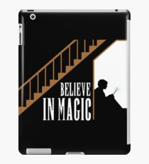 Believe In Magic  iPad Case/Skin
