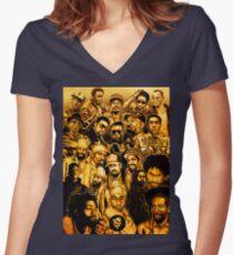 Dancehall Legenden! Shirt mit V-Ausschnitt