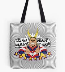 All Might is here!! Tote Bag