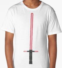 Kylo Ren Sith Lightsaber Long T-Shirt