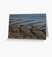 Tidal Estuary Greeting Card