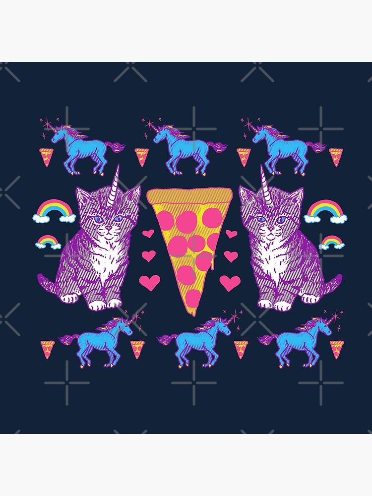 Kittycorn Pizza-Regenbogen von wytrab8