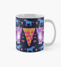 Kittycorn Pizza Rainbows Mug