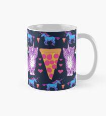 Kittycorn Pizza Rainbows Mug