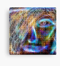 Daydream of a Cosmic Girl Canvas Print