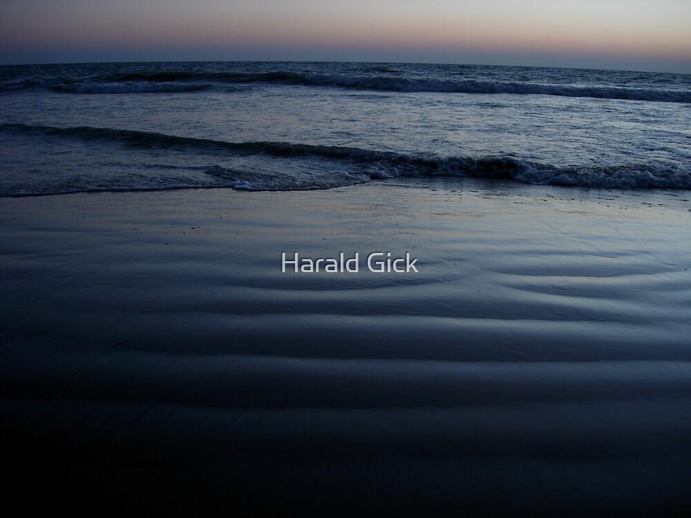 Dawn at Varkala beach by Harald Gick