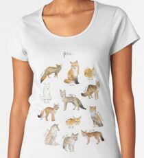 Foxes Women's Premium T-Shirt