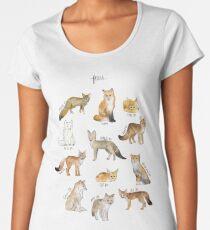 Füchse Frauen Premium T-Shirts