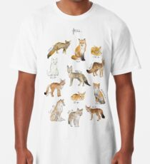Foxes Long T-Shirt