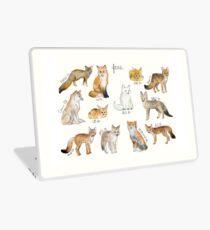 Foxes Laptop Skin
