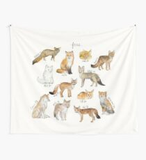 Foxes Tapestry