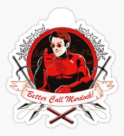 BETTER CALL MURDOCK Sticker