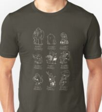 Rhyming Monkey Chart Unisex T-Shirt