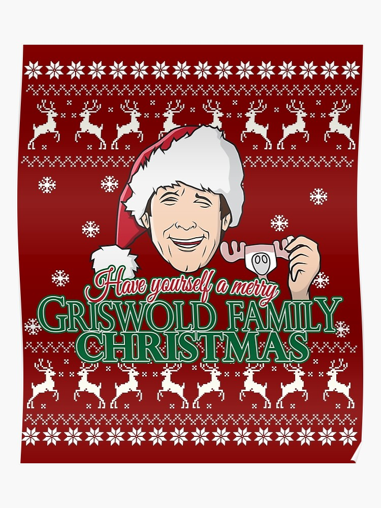 Griswold Family Christmas.Have Yourself A Merry Griswold Family Christmas Poster